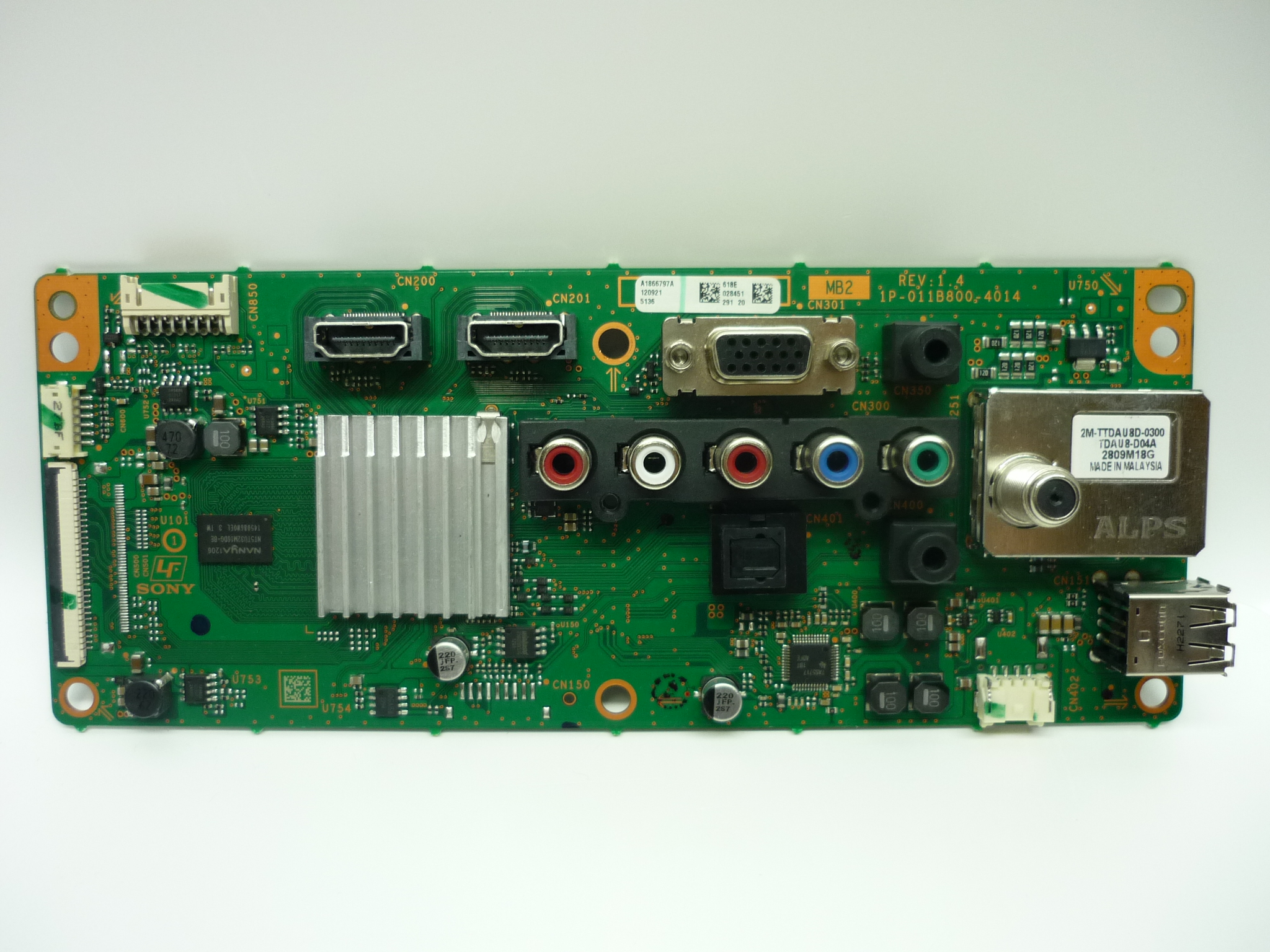 Sony A1866797A Main Board