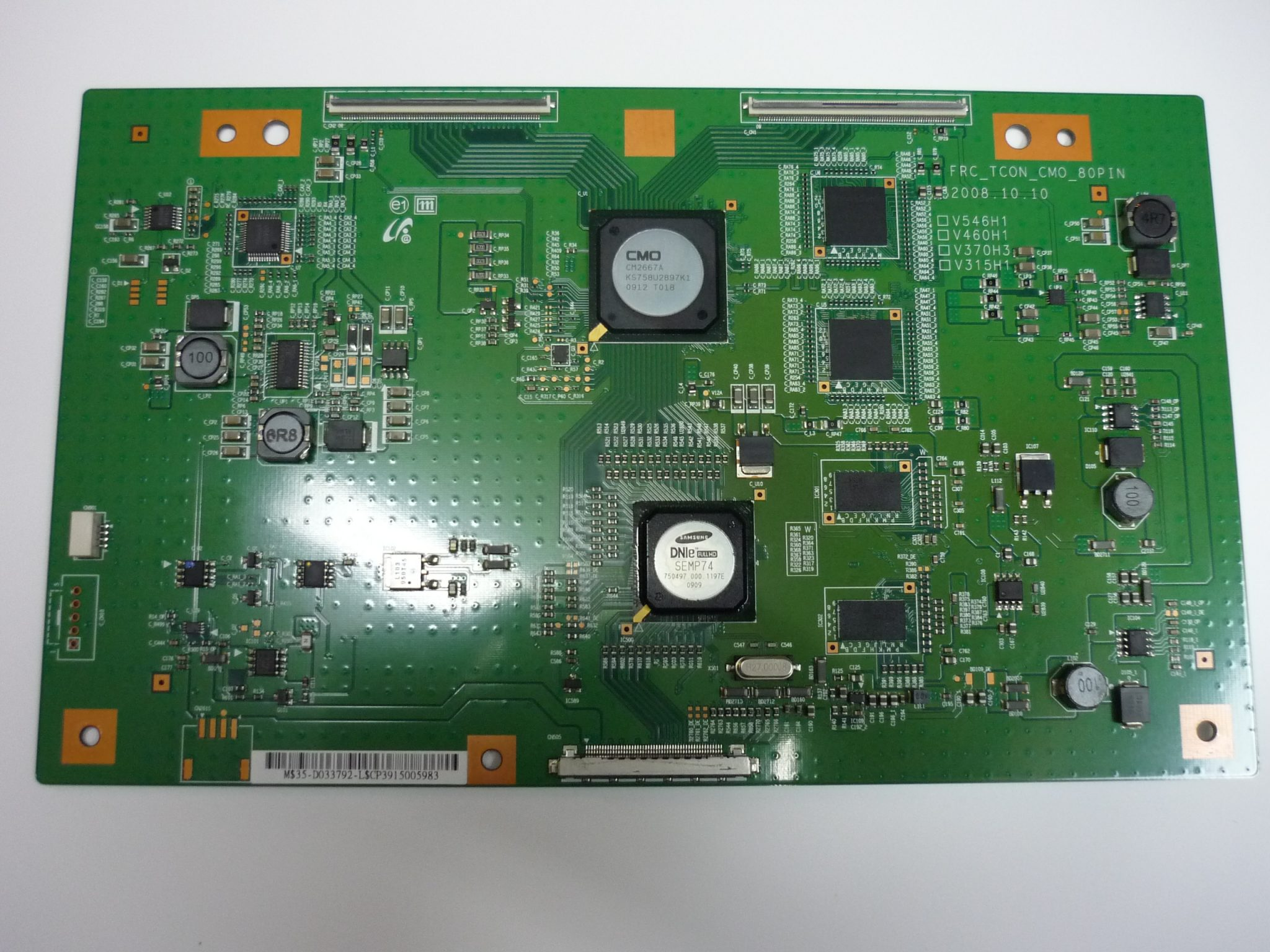 Samsung BN81-02393A (35-DO33792) T-Con Board for LN46B650T1FXZA