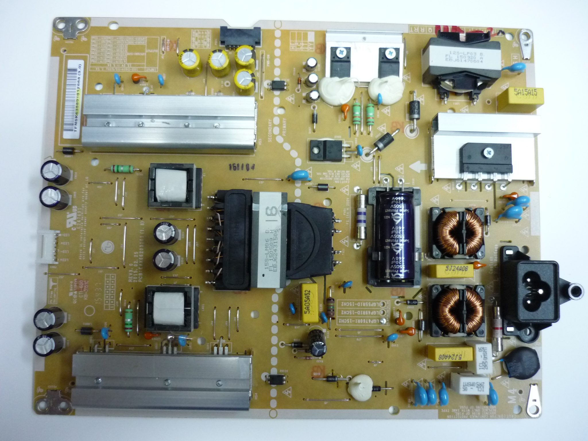 LG EAY63689101 Power Supply / LED Board