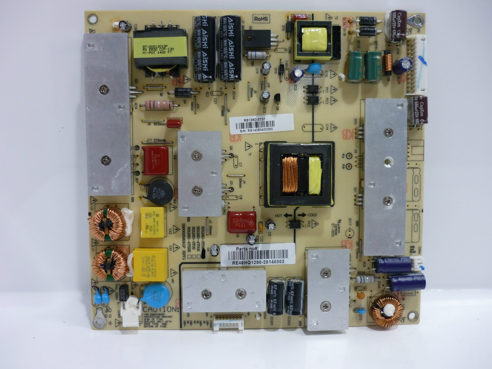 RCA RE46HQ1290 Power Supply / LED Board